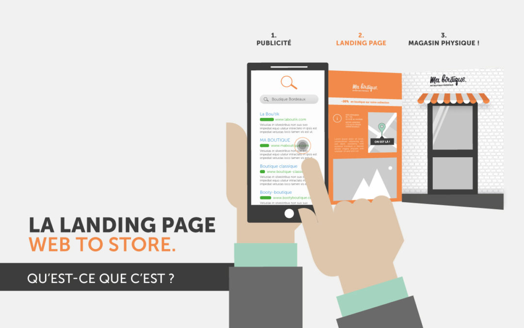 landing page webtostore